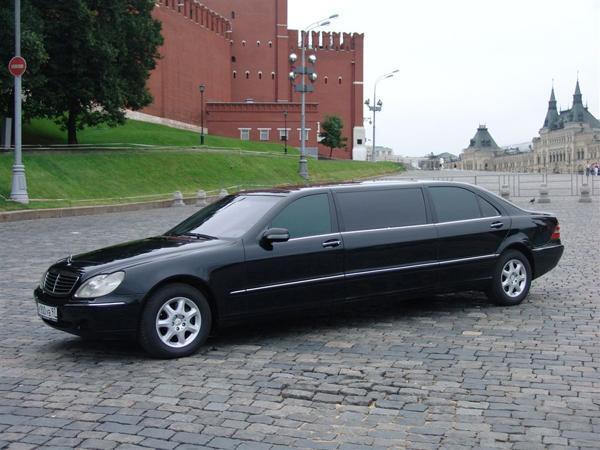 Mercedes-Benz S-class Pullman W220 за 2000 руб./час ... Имидж Компании