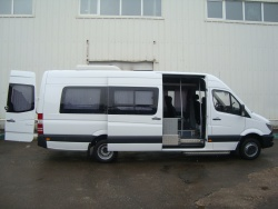 Прокат и аренда Mercedes-Benz Sprinter 515 CDI