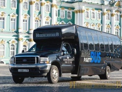 Прокат и аренда Ford PartyBus