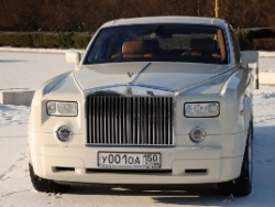Прокат и аренда Rolls-Royce Phantom