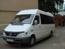Прокат и аренда Mercedes-Benz Sprinter Max