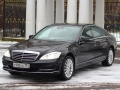 Аренда Mercedes-Benz S-class  W221 long Москва (ТРОЙКА)