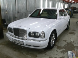 Прокат и аренда Bentley Arnage