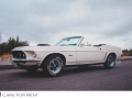 Ford Mustang Cabrio -  - Спорт-купе/кабриолеты - Санкт-Петербург - CarsForRent