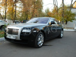 Прокат и аренда Rolls-Royce Ghost