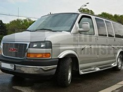 Прокат и аренда Chevrolet GMC Savana